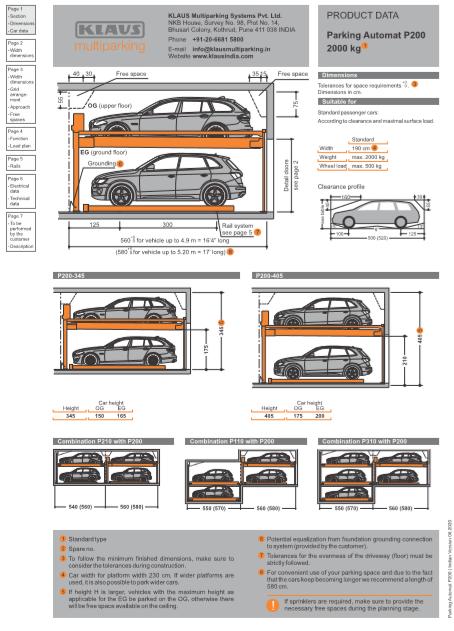 Parking Automat P200