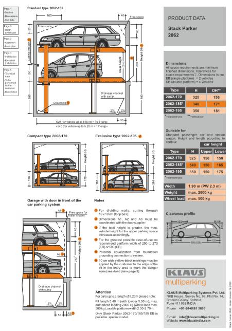 Stack parker 2062