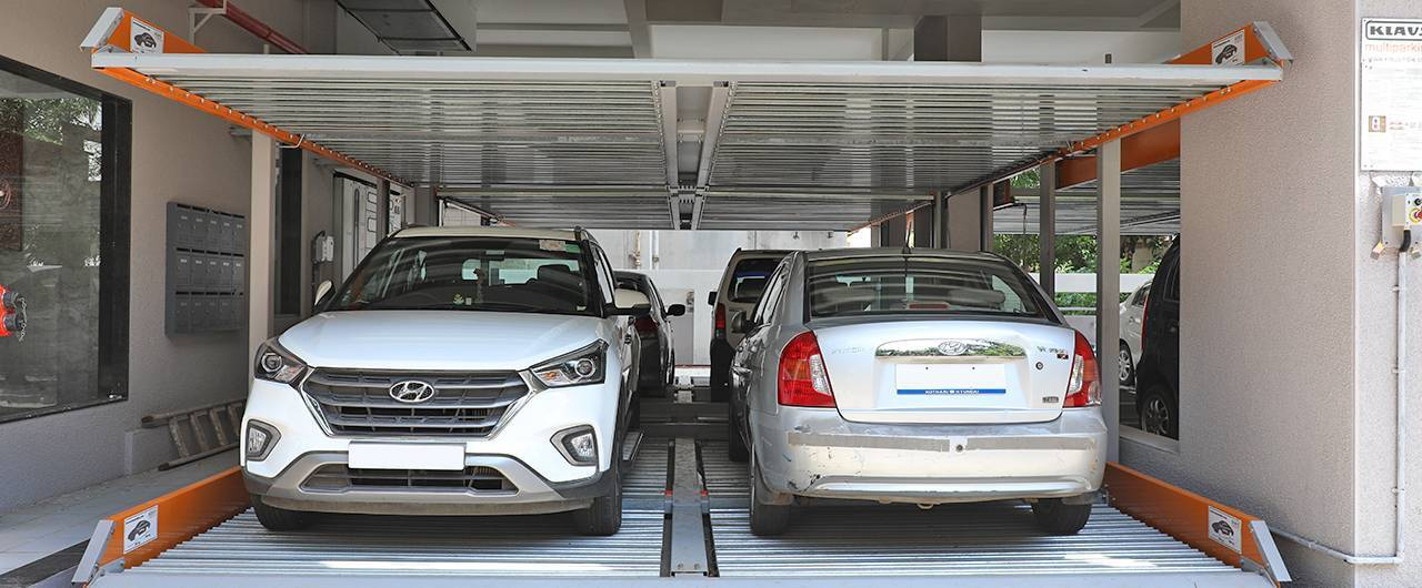 Puzzle Parking System - Klaus Multiparkin System